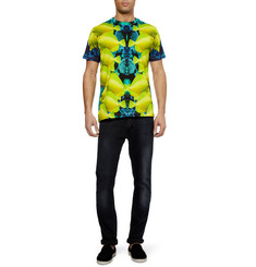 London Collections. Men Katie Eary Fish-Print Cotton-Jersey T-Shirt