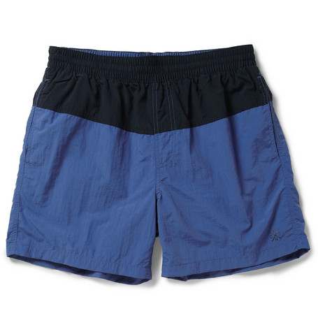 NN.07 Beck Block Mid-Length Swim Shorts