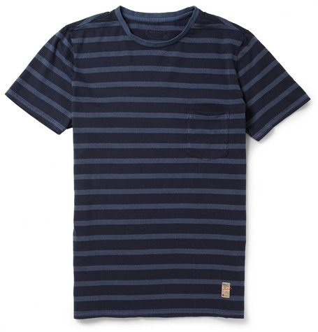NN.07 Bjarke Striped Cotton-Jersey T-Shirt