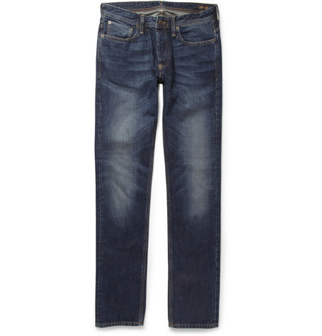 NN.07 James Straight-Fit Washed-Denim Jeans
