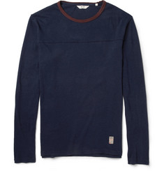 NN.07 Kennan Cotton-Jersey Long-Sleeved T-Shirt