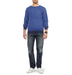 Nudie Jeans Sharp Bengt Straight-Leg Organic Denim Jeans