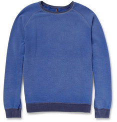 Nudie Jeans Harald Washed Organic Cotton-Jersey Sweatshirt
