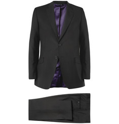 Paul Smith - Black Byard Slim-Fit Wool and Mohair-Blend Travel Suit