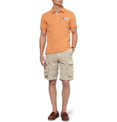 Faconnable Cotton-Pique Polo Shirt
