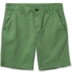 Faconnable Maverick Cotton-Twill Shorts