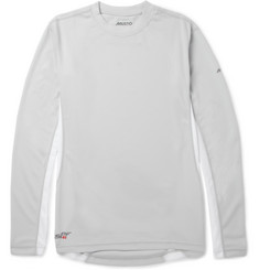 Musto Sailing Long-Sleeved Panelled Piqué T-Shirt