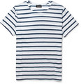 A.P.C. - Striped Cotton-Jersey T-Shirt