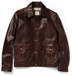 Billy Reid Dunnavant Leather Jacket