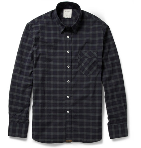 Billy Reid Walland Check Cotton Shirt
