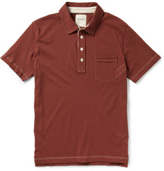 Billy Reid Pensacola Cotton-Jersey Polo Shirt