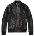 PS by Paul Smith - Leather Bomber Jacket