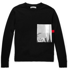 London Collections. Men Matthew Miller Foil-Pocket Cotton-Jersey Sweatshirt