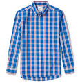 Saturdays Surf NYC Crosby Slim-Fit Plaid Cotton Shirt
