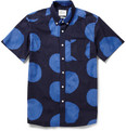 Saturdays Surf NYC Esquina Dot-Print Cotton Shirt