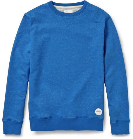 Saturdays Surf NYC Bowery Loopback-Jersey Sweatshirt