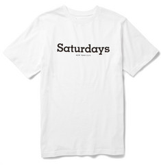 Saturdays Surf NYC Simple Slab Printed Cotton-Jersey T-Shirt