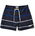 Saturdays Surf NYC Striped Swim Shorts