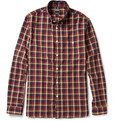 Todd Snyder Check Cotton Shirt