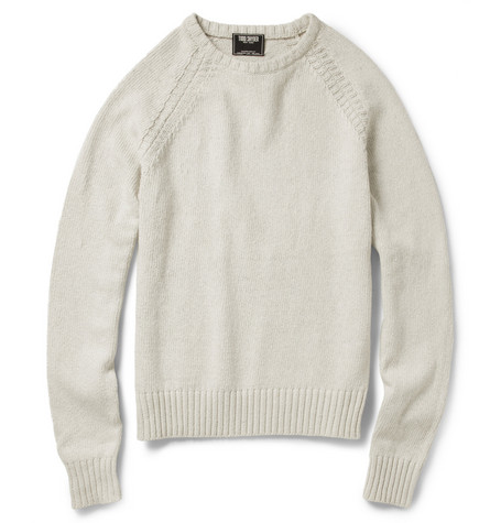 Todd Snyder Knitted Cotton Sweater