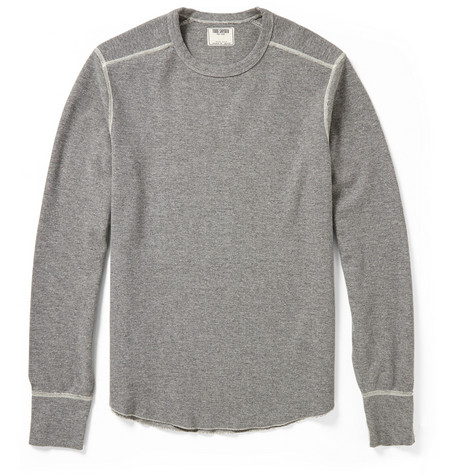 Todd Snyder Cotton-Blend Thermal Sweatshirt
