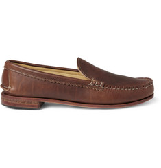 Quoddy Tormaline Leather Loafers