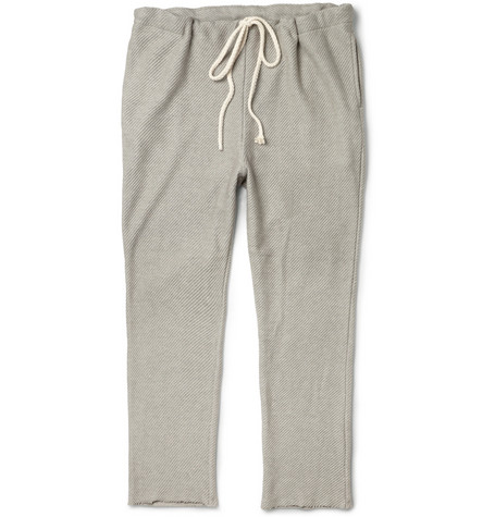 The Elder Statesman Cotton and Cashmere-Blend Sweatpants