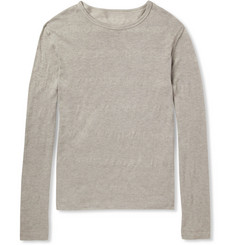 The Elder Statesman Fine-Knit Cotton and Cashmere-Blend Sweater