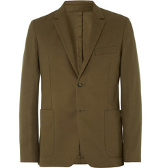 AMI Slim-Fit Cotton-Gabardine Blazer