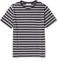 AMI Striped Cotton-Blend T-Shirt