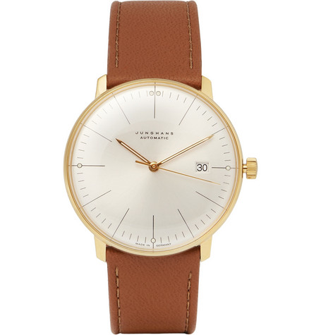 Junghans x Max Bill Gold-Plated Automatic Watch