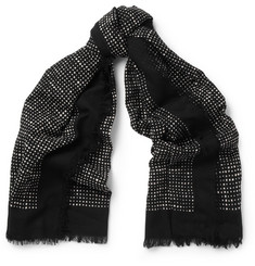 Marc by Marc Jacobs Star-Print Cotton Scarf