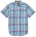 J.Crew - Short-Sleeve Madras-Check Cotton Shirt