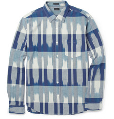 J.Crew Slim-Fit Ikat Cotton Shirt