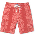 J.Crew Long-Length Floral-Patterned Swim Shorts