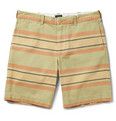 J.Crew - Striped Cotton-Twill Shorts