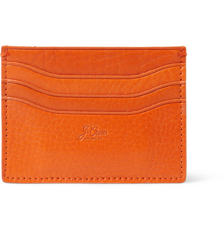 J.Crew Full Grain Leather Card Holder