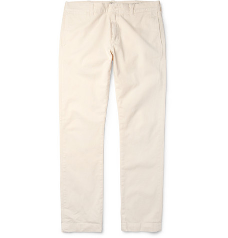 J.Crew 484 Brushed-Cotton Trousers