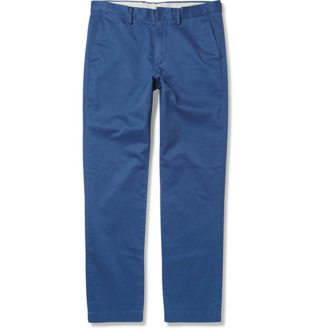 J.Crew Broken In Relaxed-Fit Brushed-Cotton Chinos