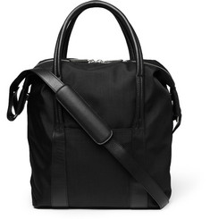 Maison Martin Margiela Leather-Trimmed Tote Bag