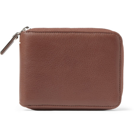 Maison Martin Margiela Zipped Leather Wallet