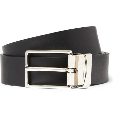 Maison Martin Margiela Reversible Leather and Reflective Belt