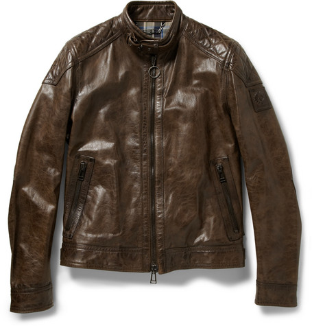Belstaff Beckland Leather Jacket