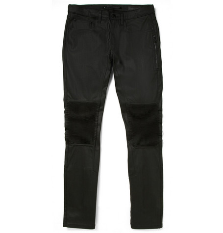 Belstaff Blackrod Dry Coated-Denim Biker Jeans