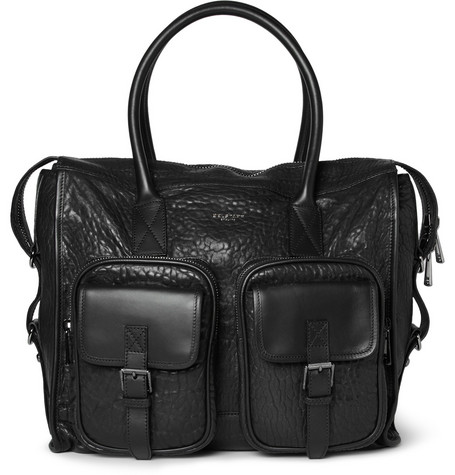 Belstaff Carnegie Textured-Leather Tote Bag