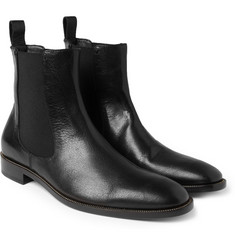 Belstaff Salem Zip-Trimmed Leather Chelsea Boots