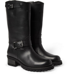 Belstaff Fulham Leather Biker Boots