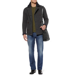 Gucci Knitted Wool-Blend Jacket