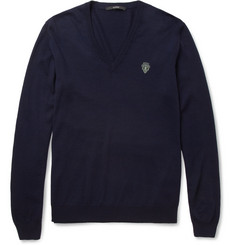 Gucci Wool V-Neck Sweater