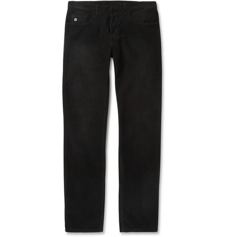 Gucci Slim-Fit Cropped Corduroy Trousers